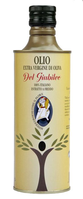 L'olio del Giubileo arriva dall'aretino: un crocifisso come logo