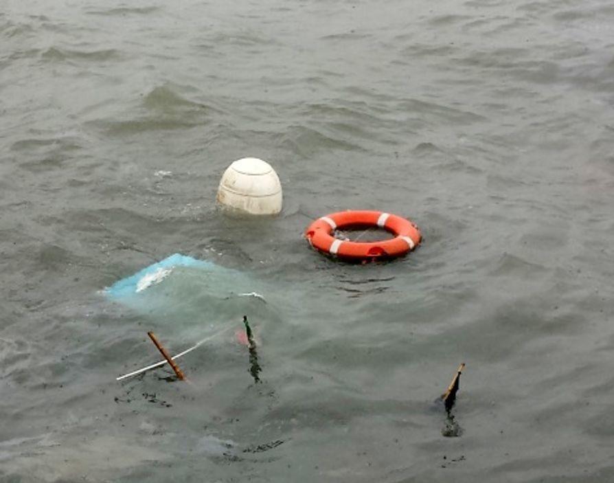 Anzio, affonda una barca: nessuno a bordo