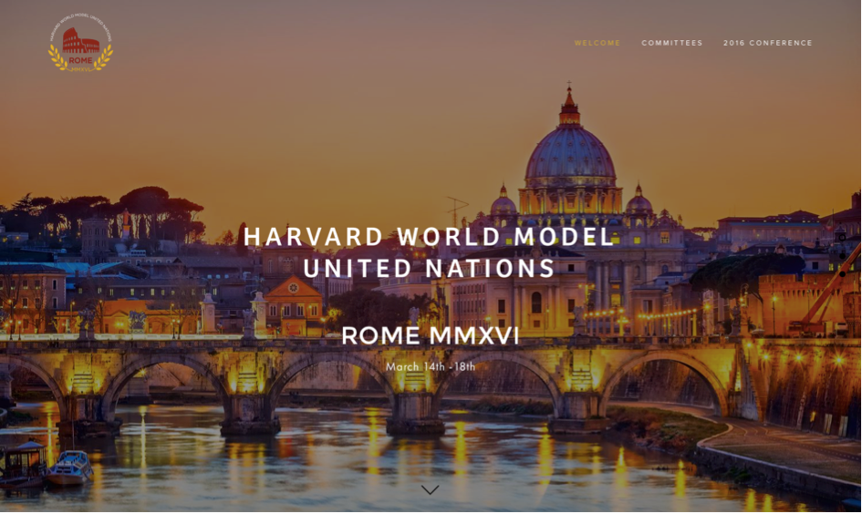 Harvard porta le Olimpiadi dei model united nations a Roma