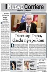 IL NUOVO CORRIERE DI ROMA E DEL LAZIO – MARTEDI' 3 MAGGIO 2016