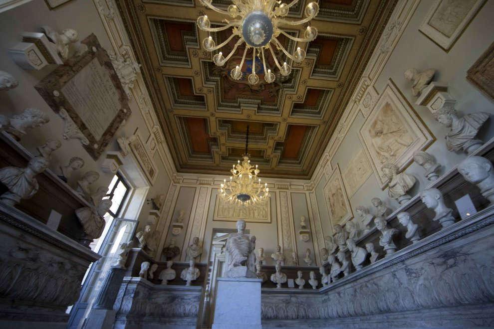 La Sala degli Imperatori restaurata riapre al pubblico