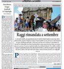 Il Nuovo Corriere di Roma e del Lazio – Martedì 9 Agosto 2016