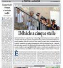 Il Nuovo Corriere di Roma e del Lazio – Sabato 3 Settembre 2016