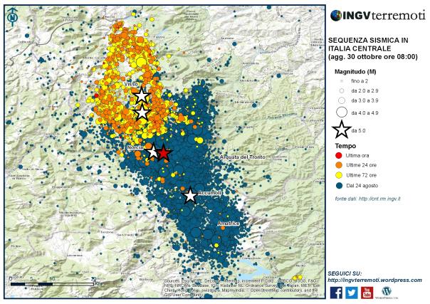 """Terremoto Lazio, Protezione civile: """"Evitare spostamenti verso area sisma"""""""