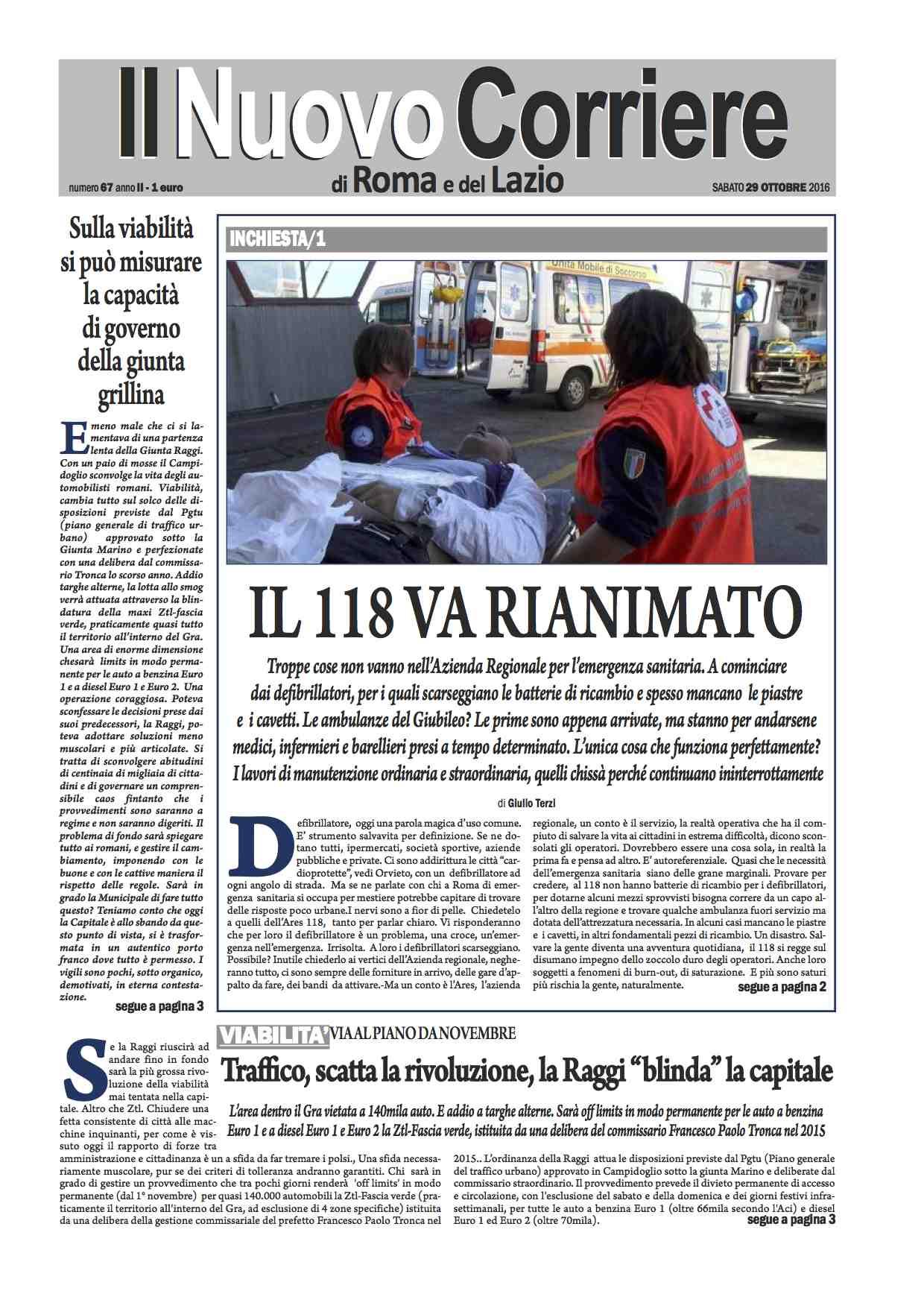 il-corriere-di-roma-n-67-del-29-ottobre-2016