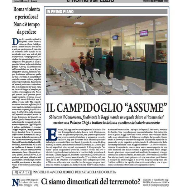 il-nuovo-corriere-di-roma-e-del-lazio-n-64-del-18-ottobre-2016
