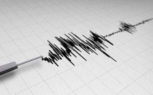 Il sismografo che registra le scosse (repertorio)