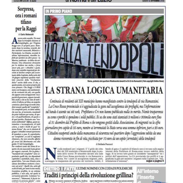 il-nuovo-corriere-di-roma-e-del-lazio-n-59-del-1-ottobre-2016