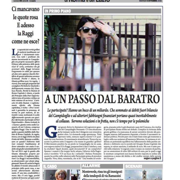 il-nuovo-corriere-di-roma-e-del-lazio-n-60-del-4-ottobre-2016