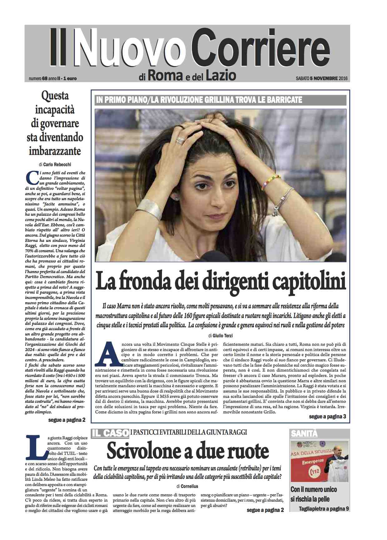 il-nuovo-corriere-di-roma-e-del-lazio-n-68-del-5-novembre-2016