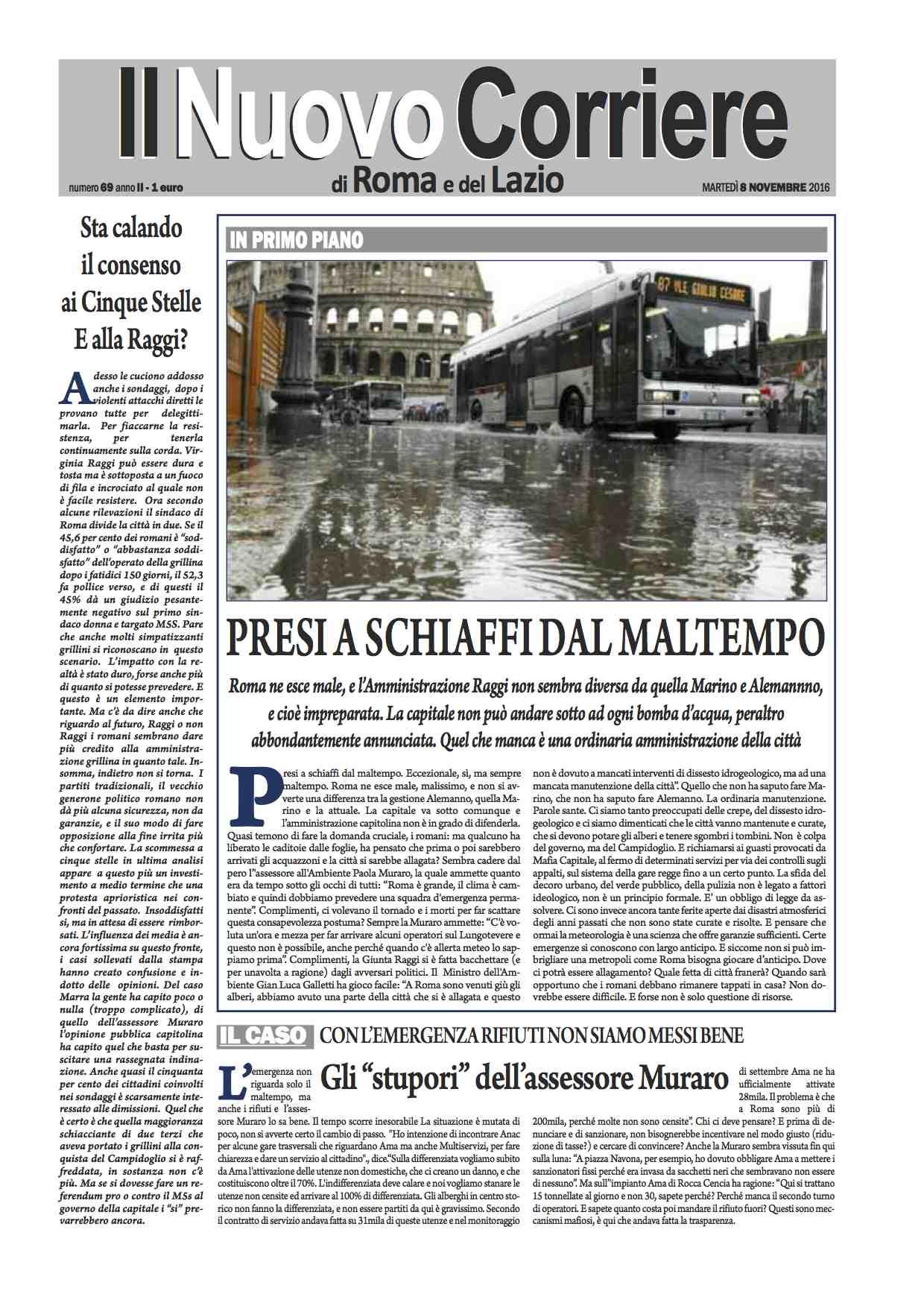 il-nuovo-corriere-di-roma-e-del-lazio-n-69-del-8-novembre-2016