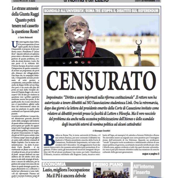 il-nuovo-corriere-di-roma-e-del-lazio-n-74-del-26-novembre-2016