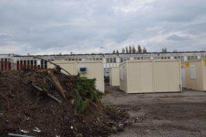 VIBERBO - Tredici containers per 60 immigrati nella ex fiera