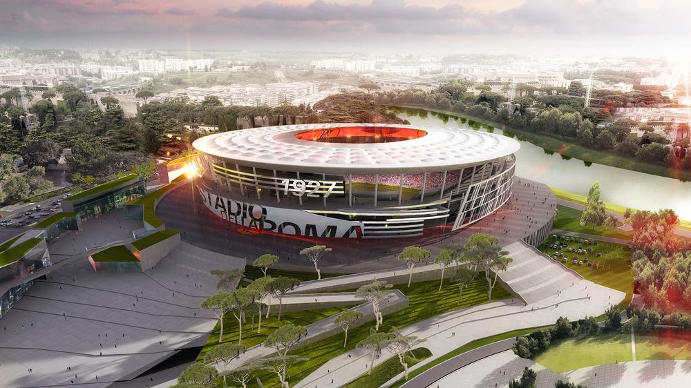 """Stadio della Roma, incontro in Campidoglio. Il club: """"Meno cubature, ma rimangano le Torri"""""""