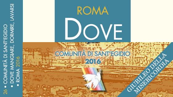 """POVERTA' -  S.Egidio presenta la 27ma edizione della guida: """"Dove mangiare, dormire, lavarsi"""""""
