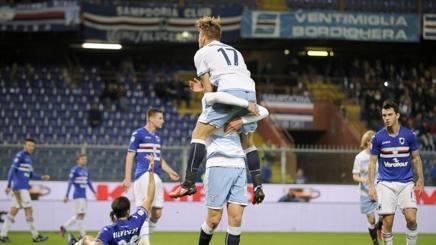 Sampdoria-Lazio 1-2, Inzaghi è quarto