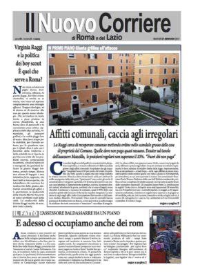 Il Nuovo Corriere di Roma e del Lazio n.3 – Anno III – martedì 17 gennaio 2017
