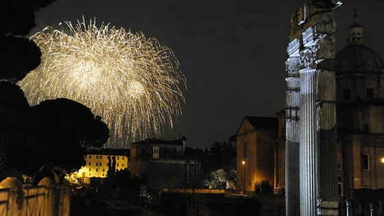 Capodanno al Circo Massimo: brindisi per il 2017 con il sindaco Raggi
