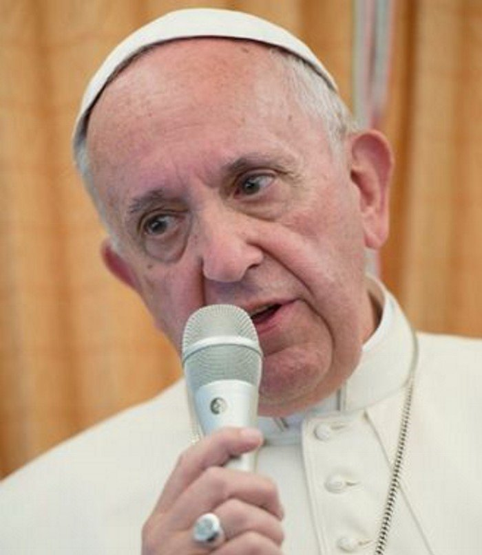 Papa Francesco nella parrocchia di Setteville Guidonia