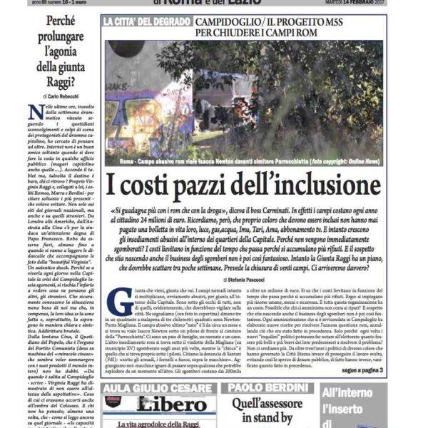Il Nuovo Corriere n.10 del 14 febbraio 2017