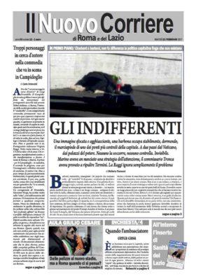 Il Nuovo Corriere di Roma e del Lazio n.12 – Anno III + Cronache Nazionali n.12 – Anno II