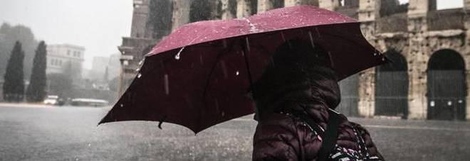 Maltempo, sabato rischio idrogeologico per temporali a Roma