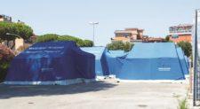 Tendopoli di via Ramazzini: nuova proroga fino a fine mese