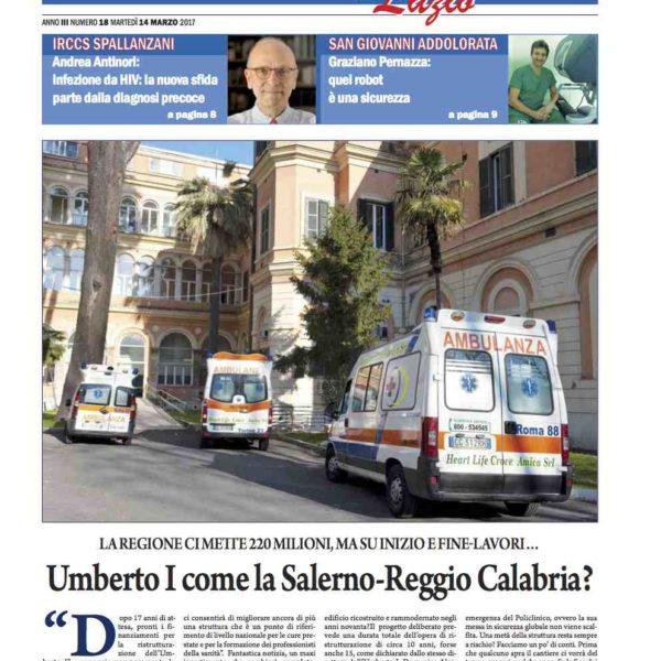 Sanità Il Nuovo Corriere n.18 del 14 marzo 2017