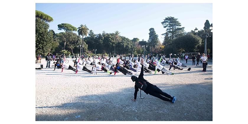Tutti di corsa, fitness tour torna a Roma