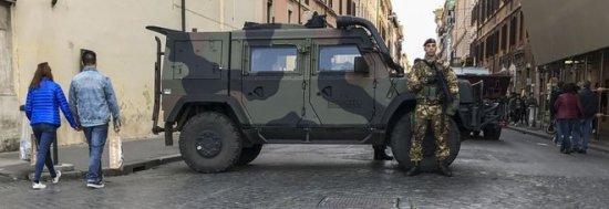 ROMA BLINDATA - Niente camion in Centro, controlli sui mediorientali