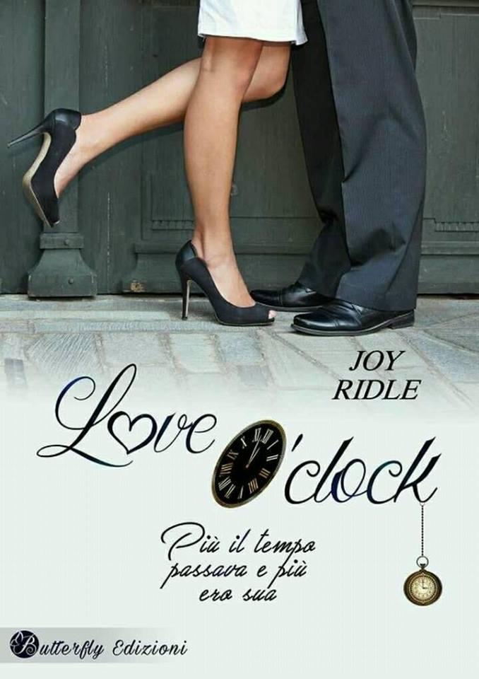 Love O'clock, il nuovo libro di Joy Ridle