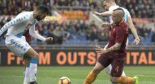 Napoli sbanca l'Olimpico, 2-1 alla Roma
