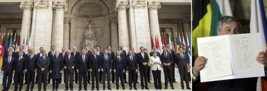 L'Europa prova a ripartire da Roma