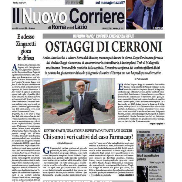 Il Nuovo Corriere n.26 del 11 aprile 2017