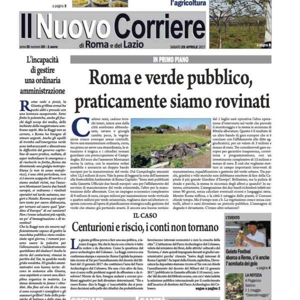 Il Nuovo Corriere n.30 del 29 aprile 2017