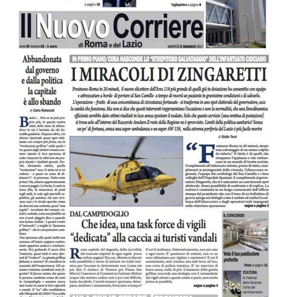 Il Nuovo Corriere n.31 del 2 maggio 2017