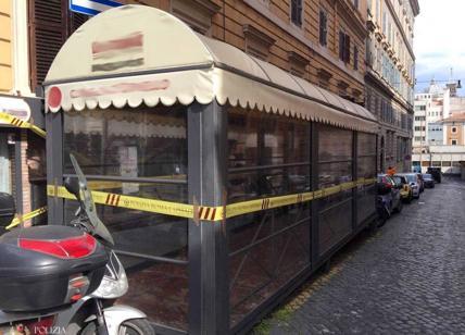 """ESQUILINO - Scoperto """"dehors"""" abusivo, sigilli ad un ristorante in zona"""