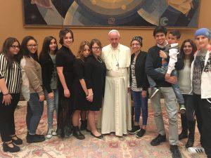 'I Ragazzi del Bambino Gesù' ricevuti da Papa Francesco