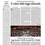 Cronache nazionali n.39 del 30 maggio 2017