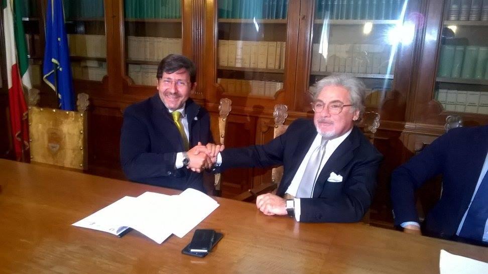 VITERBO - Le Regole arrivano anche in Tuscia. Firmato il Protocollo d'Intesa tra Prefettura e Democr...