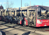 ANAGNINA – Bus in fiamme