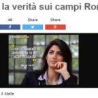 """Roma, blog Grillo: """"Chiudiamo i campi nomadi e stop all'elemosina in metro"""""""