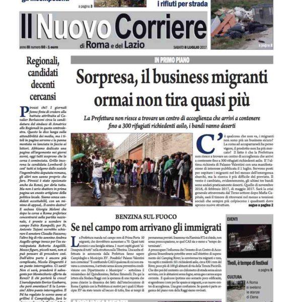 Il Nuovo Corriere n.50 del 08 luglio 2017