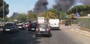 Roma brucia ancora, per tutta la giornata incendi ovunque