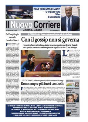 Il Nuovo Corriere di Roma e del Lazio n.59 – Anno III + Cronache Nazionali n.59 – Anno II