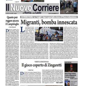 Il Nuovo Corriere n.60 del 26 agosto 2017