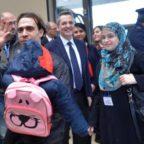 FIUMICINO - Altri 35 siriani tra i migranti arrivati