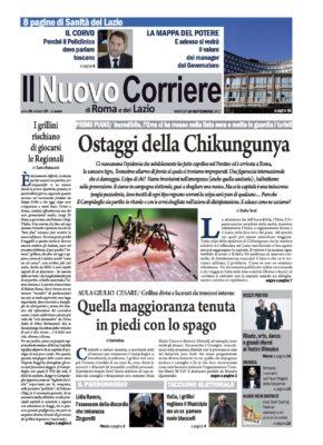 Il Nuovo Corriere di Roma e del Lazio n.67 – Anno III + Cronache Nazionali n.67 – Anno II