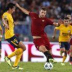 CHAMPIONS - Roma a sprazzi, solo 0-0 con l'Atletico