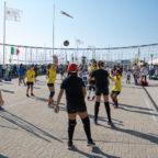 Il Porto nelle mani dei bambini: più di 600 piccoli pallavolisti a Ostia si riappropriano di uno spa...